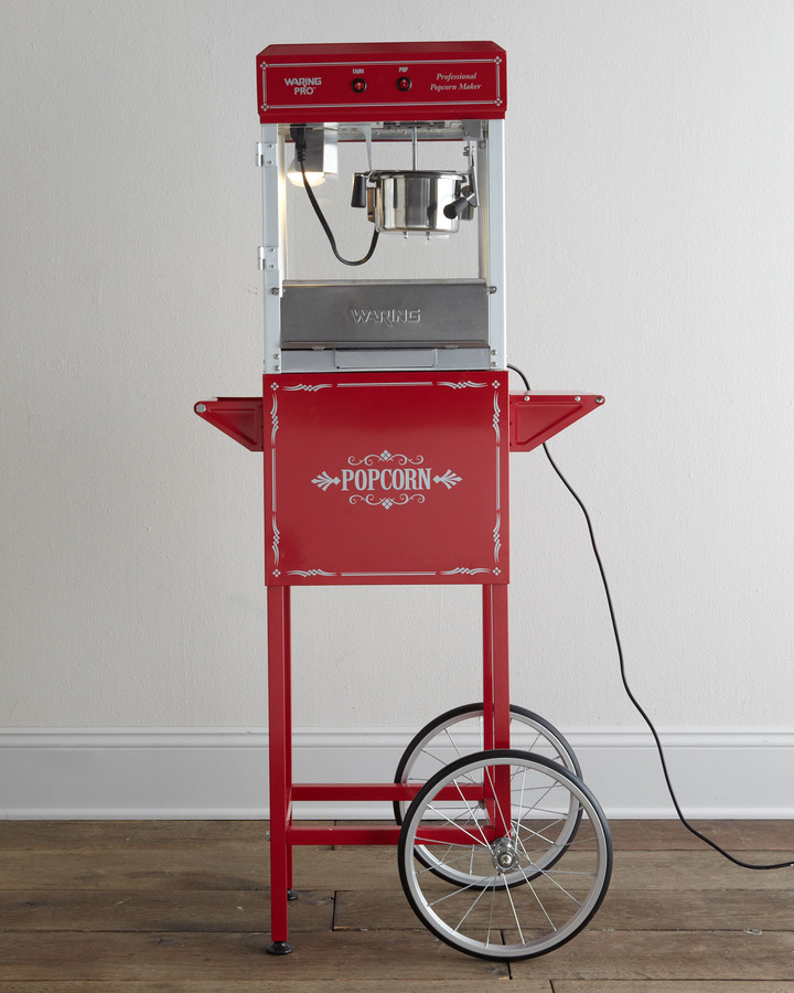 Waring Popcorn Machine & Trolley