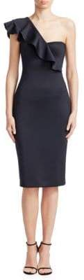 Black Halo Carmel Sheath Dress