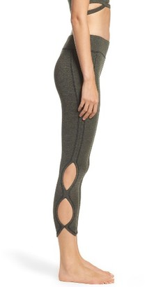 Women's Free People Fp Movement Infinity Cutout Crop Leggings $88 thestylecure.com