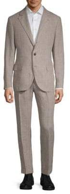 Brunello Cucinelli Pinstripe Linen Suit