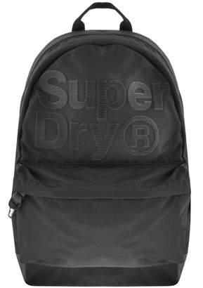 At Mainline Menswear Superdry Pinstripe Montana Backpack Black