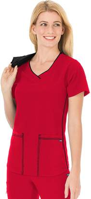 Jockey Women's Scrubs Classic Sporty V-Neck Top