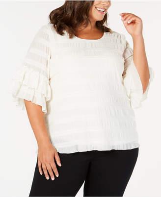 85a28b99e5f40 Alfani White Plus Size Tops on Sale - ShopStyle Australia