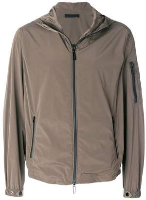 Paolo Pecora zipped hooded jacket