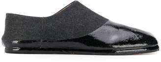 Maison Margiela varnished toe-cap loafers