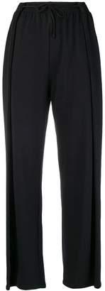MM6 MAISON MARGIELA pleat-detail track pants