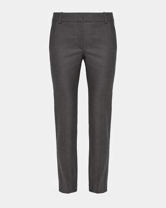 Theory Flannel Straight Trouser