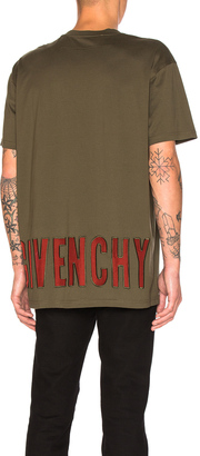 Givenchy Sheer Logo Tee $685 thestylecure.com
