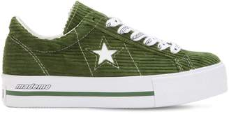 50a6aef3c86 Converse X Mademe Mademe One Star Platform Sneakers