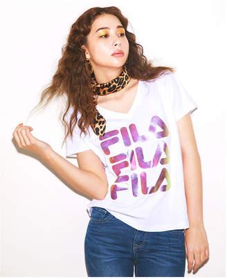 CECIL McBEE (セシル マクビー) - CECIL McBEE FILAプリントTシャツ