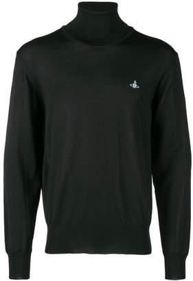 Vivienne Westwood logo turtleneck sweater