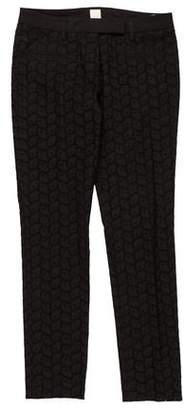 True Royal Mid-Rise Embroidered Pants