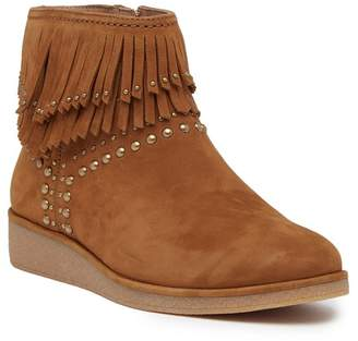 UGG Adriana Wedge Fringe Leather Boot