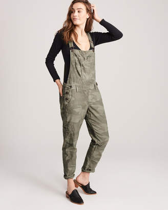 Abercrombie & Fitch Camo Twill Overalls