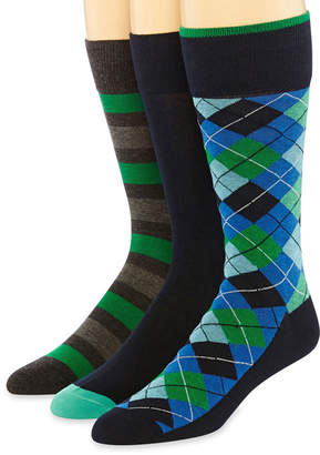 STAFFORD Stafford 3-pk. Mens Cotton Rich Crew Socks