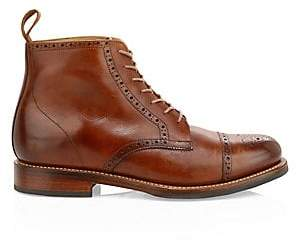 Grenson Men's Shane Leather Brogue Boots