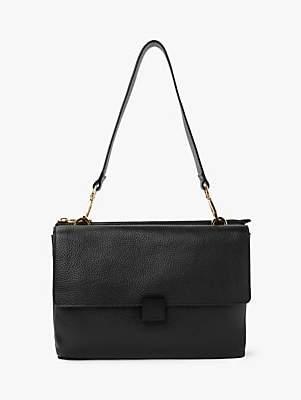 Modalu Maya Leather Shoulder Bag, Black