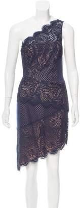 BCBGMAXAZRIA One-Shoulder Mini Dress w/ Tags