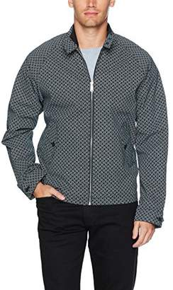 Ben Sherman Men's Harrington Jack GEO Jacket