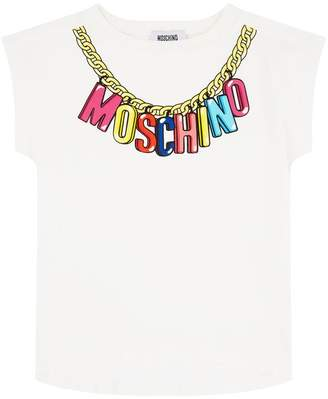 Moschino Logo Necklace T-shirt