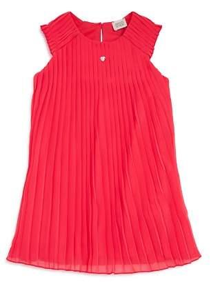 Armani Junior Girls' Sleeveless Pleated Dress - Big Kid
