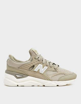 New Balance X-90 Sneaker in Grey/White