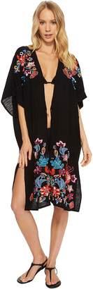 Echo Wildflower Open Front Tunic Women's Clothing