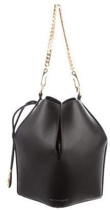 Alexander McQueen 2018 Smooth Leather Bucket Bag