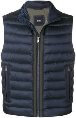 HUGO BOSS padded gilet jacket