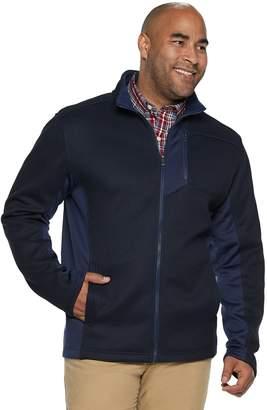 Izod Big & Tall Shaker Fleece Jacket