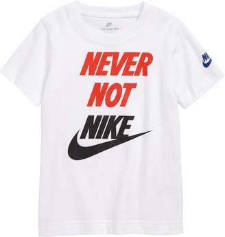 Nike Sportswear Never Not Graphic T-Shirt