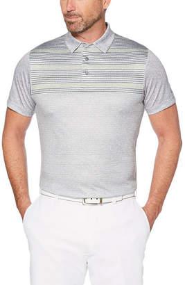 PGA Tour TOUR Easy Care Short Sleeve Stripe Polo Shirt