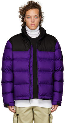 The North Face Purple and Grey Down 1992 Nuptse Jacket