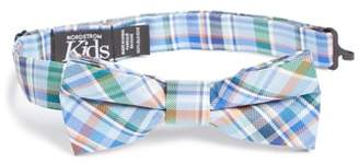 Nordstrom Campbell Plaid Silk Bow Tie