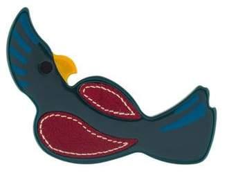 Prada Parrot Brooch