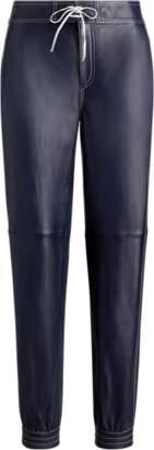 Ralph Lauren Leather Joggers