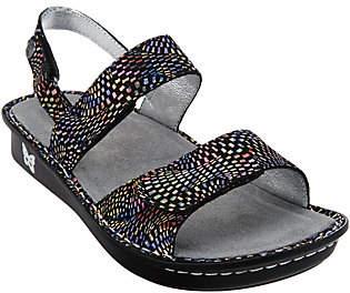 Alegria Leather Sandals with Adj. Straps- Verona