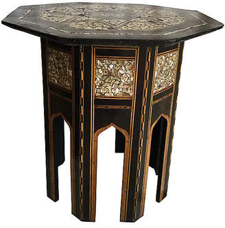 One Kings Lane Vintage Moroccan Side Table - Collections77