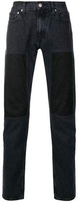 Calvin Klein Jeans slim patched jeans