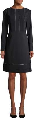 Piazza Sempione Women's Wool-Blend Sheath Dress