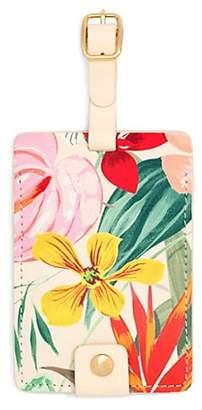 ban.do Floral-Print Luggage Tag