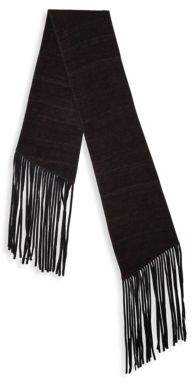 John Varvatos Double Layer Wool Scarf