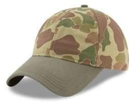 New Era Camouflage Cotton Baseball Cap