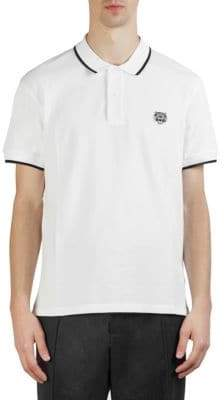 Kenzo Tiger Crest Cotton Polo