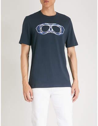 Michael Kors Sunglasses-print cotton-stretch T-shirt
