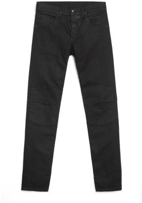 5 Pocket Moto – Coated Black $295 thestylecure.com