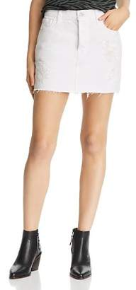 J Brand Bonny Embellished Denim Skirt in Estella