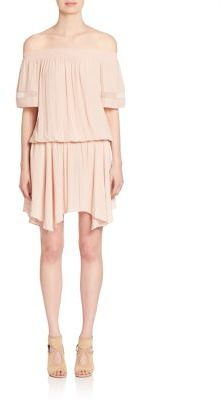 Ramy Brook Jessa Off-The-Shoulder Dress $375 thestylecure.com