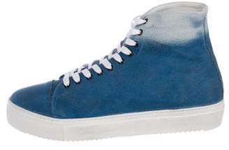 Liebeskind Berlin Ombre Canvas High-Top Sneakers