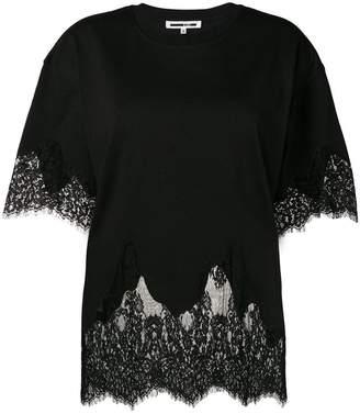 McQ lace oversized T-shirt
